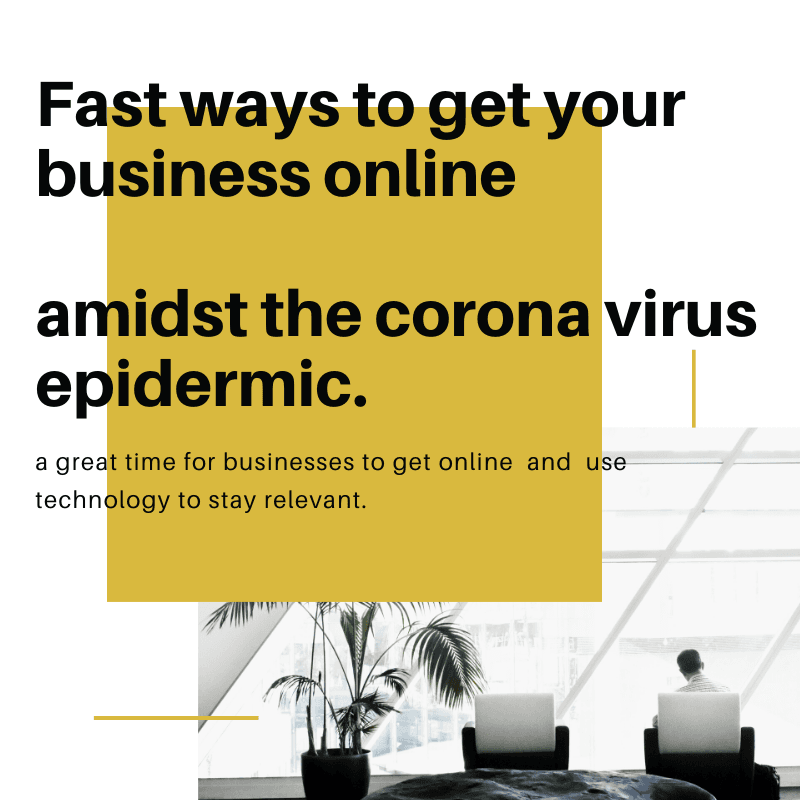 Fast ways to get your business online